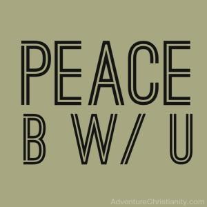 peacebwithu