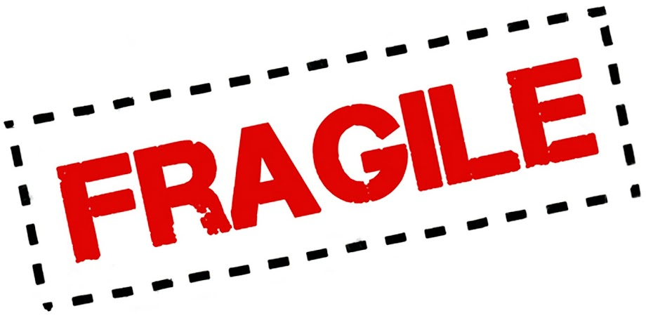 Fragile on Living Things Clip Art