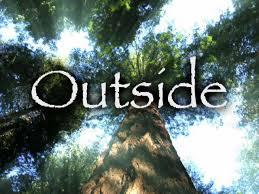 1. outside