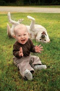 2. dog kid