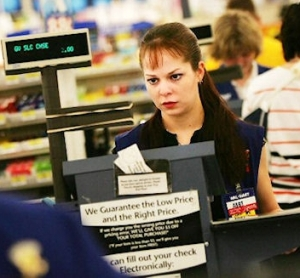 Walmart-Check-Out-Clerk