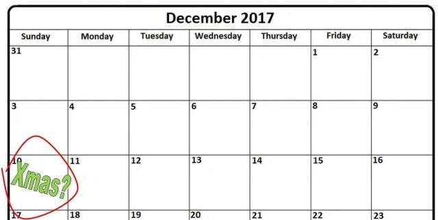 calendar dec 10