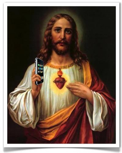 jesus-with-cellphone