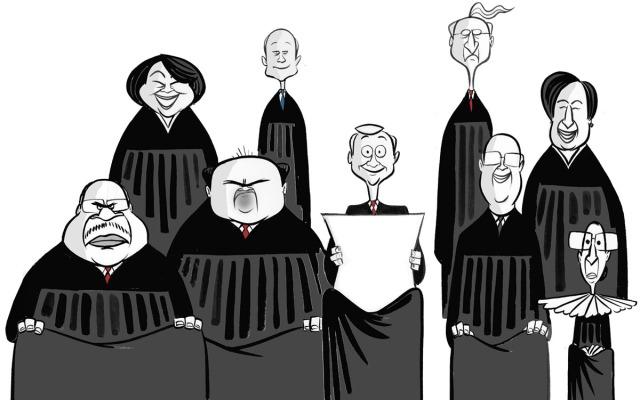 supreme-court-caricatures