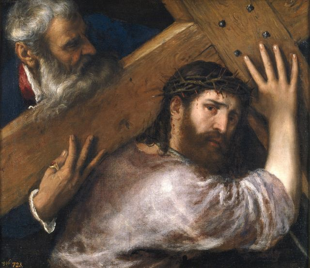 1186px-Titian,_Christ_Carrying_the_Cross._Oil_on_canvas,_67_x_77_cm,_c._1565._Madrid,_Museo_Nacional_del_Prado