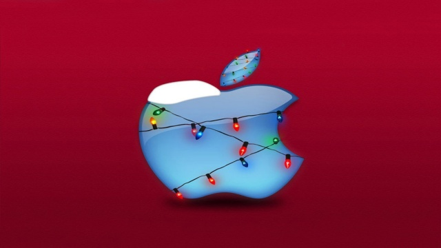 Apple_Merry_Christmas_wallpaper 02